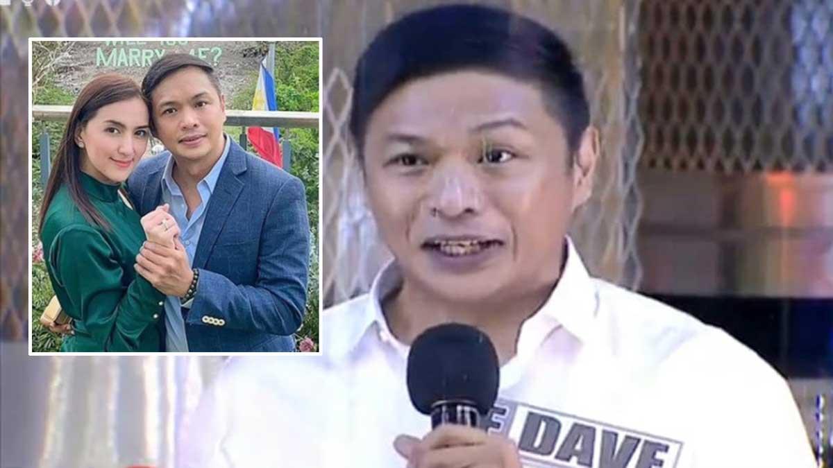 Dave Almarinez on Eat Bulaga.