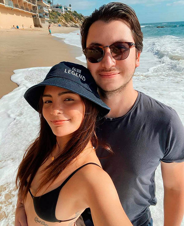 lovi poe and boyfriend monty