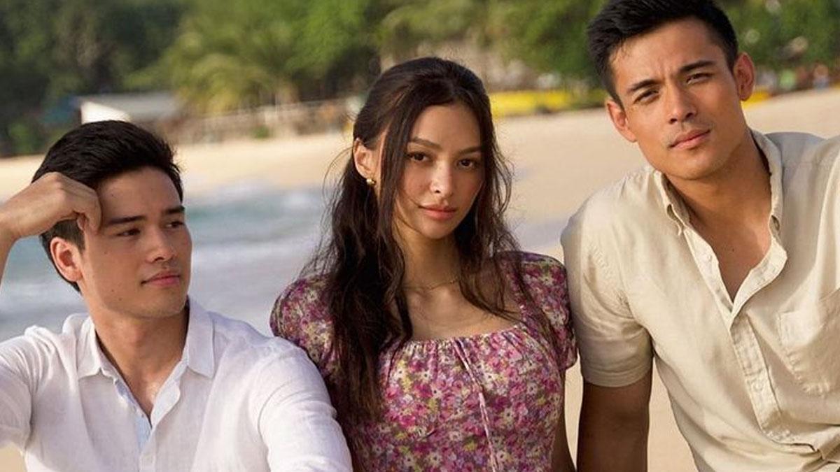 Marco Gumabao, Kylie Verzosa, Xian Lim in Parang Kayo Pero Hindi