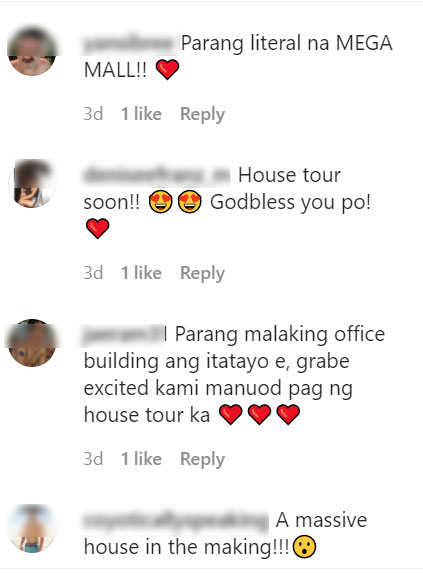 excited sharon cuneta fans requested for house tour