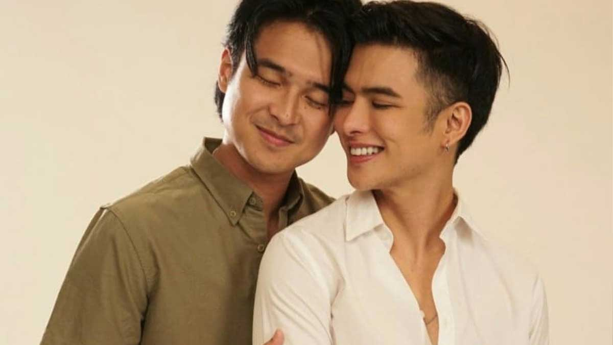 Jerome Ponce, Teejay Marquez in Ben X Jim Forever.