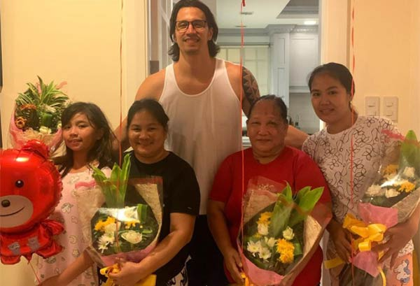 marc pingris valentine surprise for house helpers