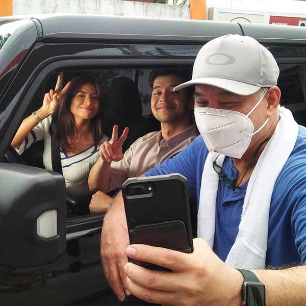 Glaiza de Castro, Rayver Cruz in Nagbabagang Luha