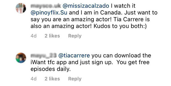TFC subscribers suggestion to Tia Carrere