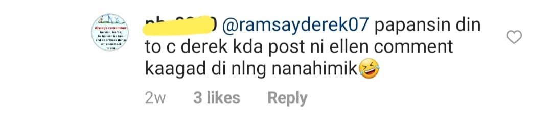 Netizens call Derek Ramsay bolero