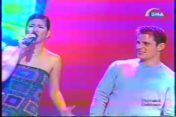 Regine Velasquez with Nick Lachey in SOP