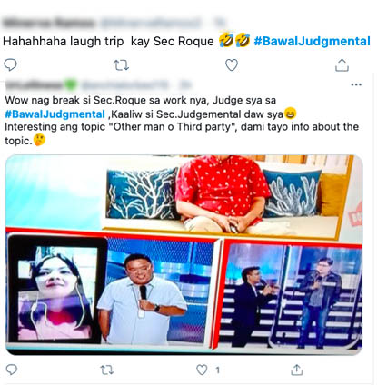 netizens harry roque remarks funny