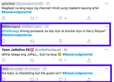 netizens not happy with Harry Roque guesting