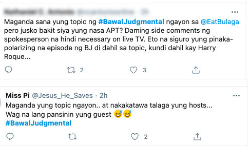 netizens not happy with Harry Roque side comments