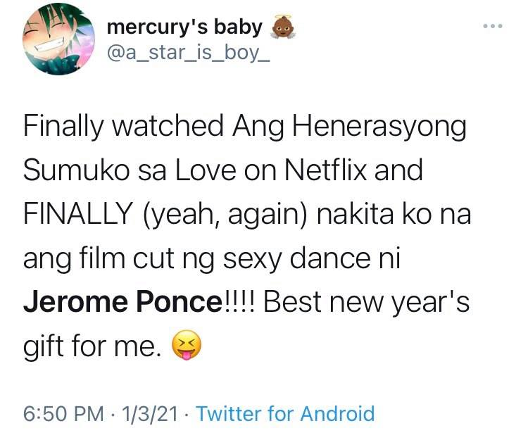 jerome ponce on thirst tweet about sexy dance