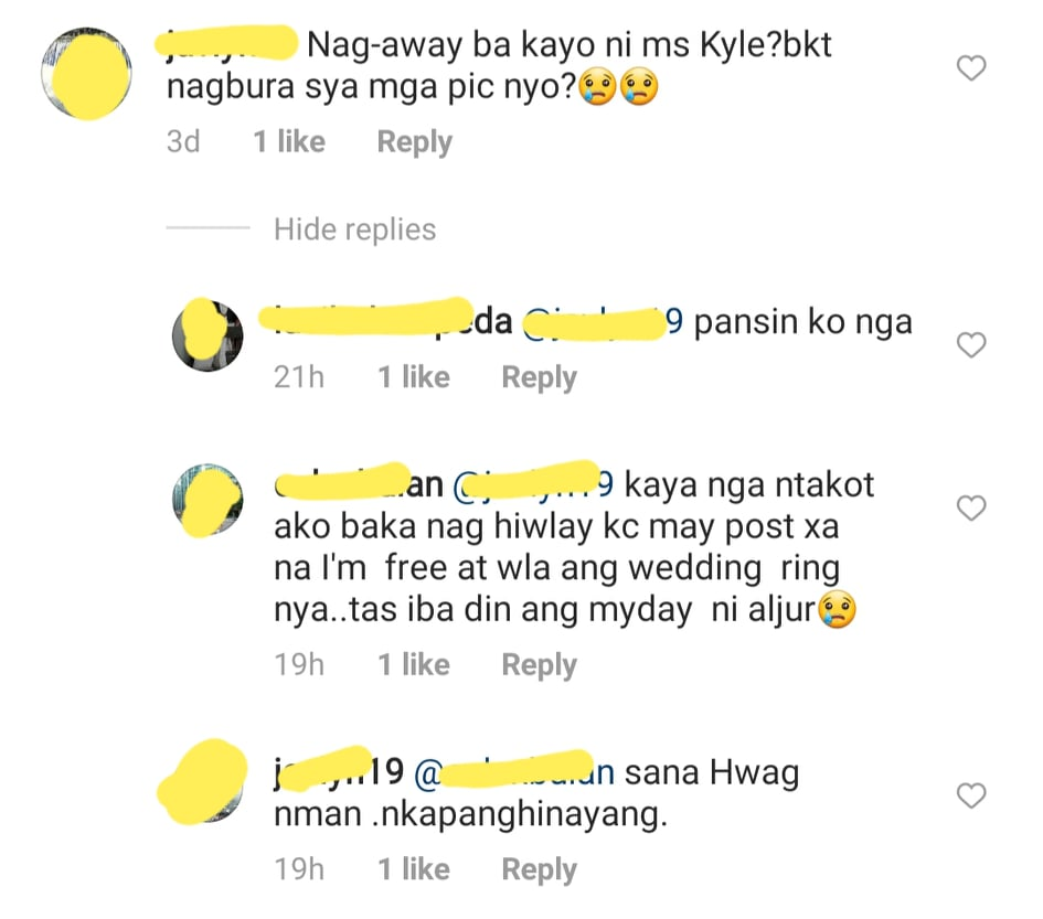 netizens wish kylie and aljur to fix their marital problem