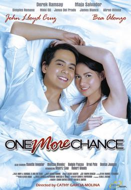 Bea Alonzo, John Lloyd Cruz as Popoy and Basha in One More Chance