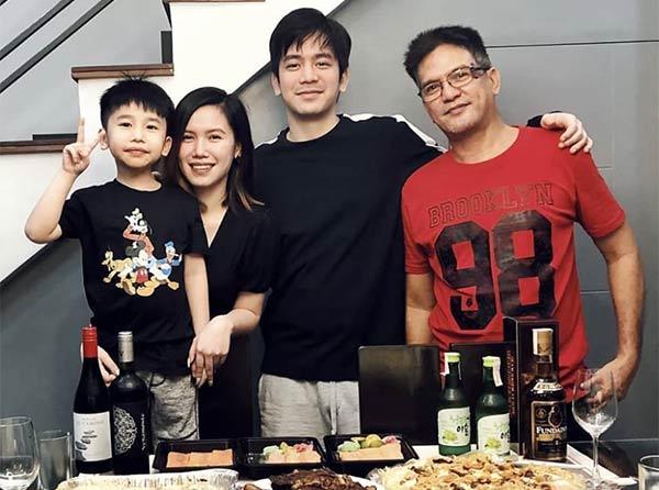 Joshua Garcia family