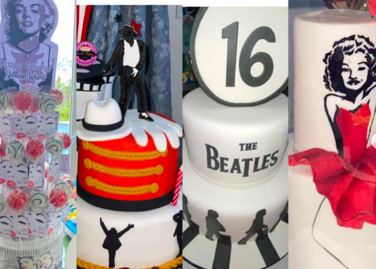 Jillian Ward cakes: Marilyn Monroe, Michael Jackson, The Beatles inspired cakes