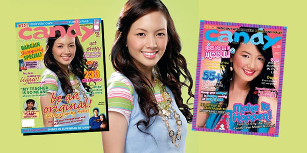 Ellen Adarna as Candymag Teen Model Search winner