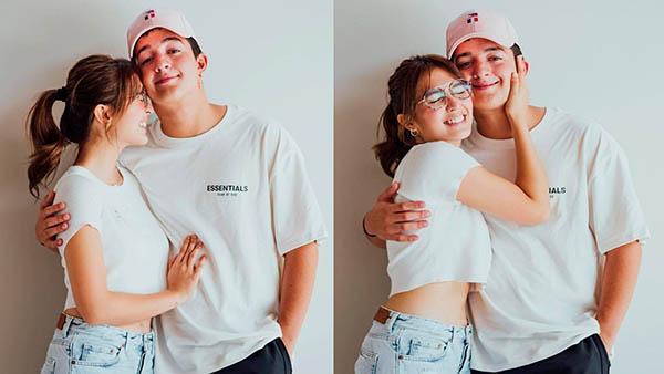 Sofia Andres with boyfriend Daniel Miranda