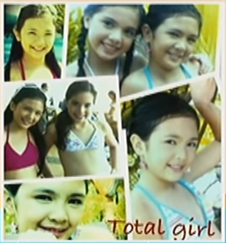 Young Sofia Andres and Michelle Vito in Total Girl