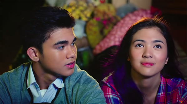 Sofia Andres, Inigo Pascual in Relaks. It's Just Pag-ibig