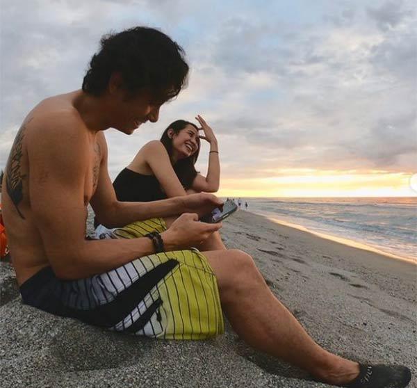 JC Santos with wife Shy Herrera