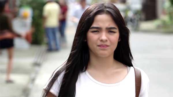 Andrea Brillantes as Mira in Huwag Kang Mangamba