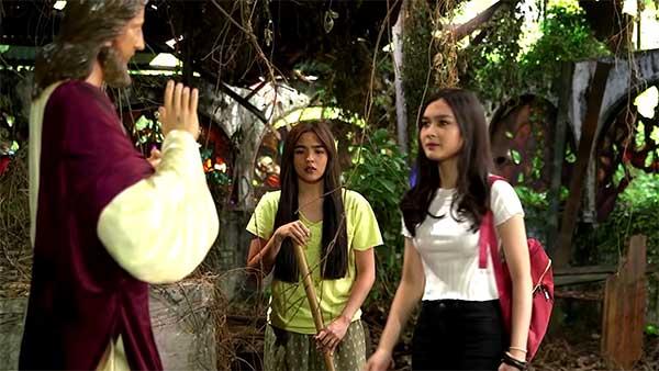 Francine Diaz, Andrea Brillantes in Huwag Kang Mangamba