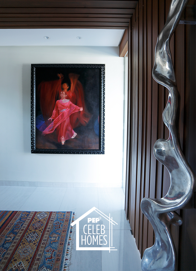 Derek Ramsay House furniture and art pieces