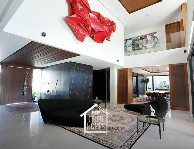 Derek Ramsay House sofa area