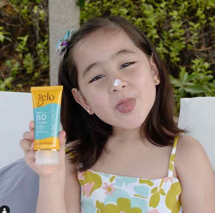 scarlet snow belo endorses The Belo Baby