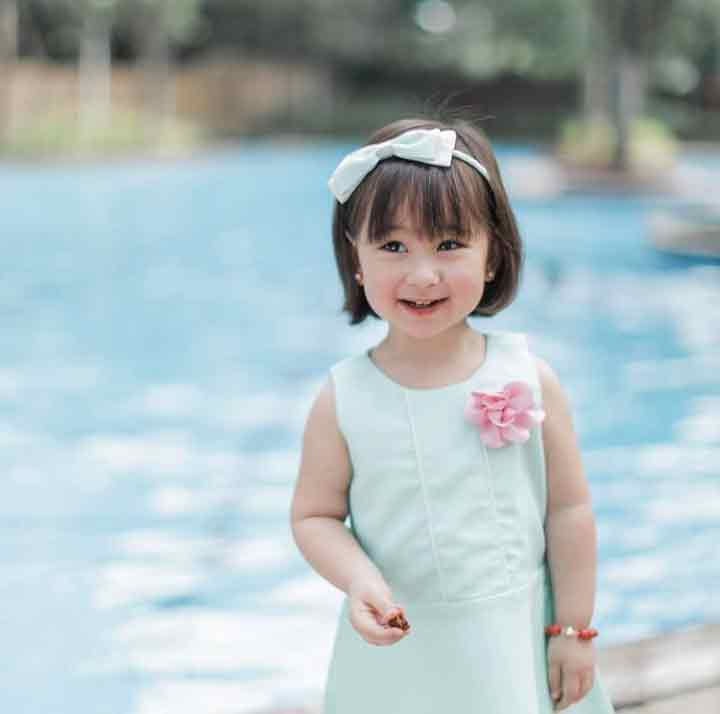 scarlet snow belo at 2 years old