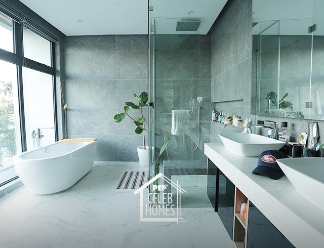 Derek Ramsay House: Japanese-style toilet