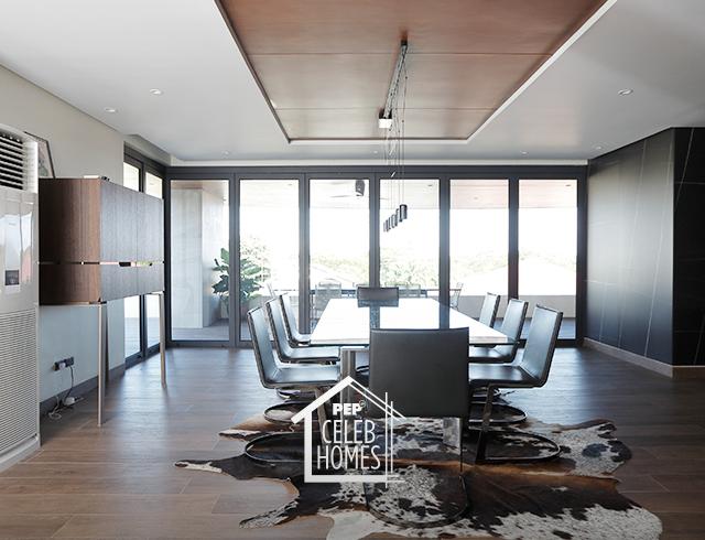 Derek Ramsay House: topmost floor view
