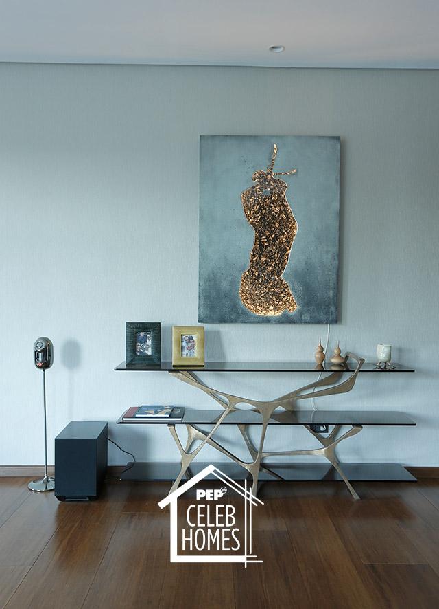 Derek Ramsay house art piece: The Nightcrawler by Hamilton Sulit