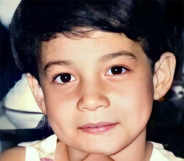 Bea Alonzo childhood photo