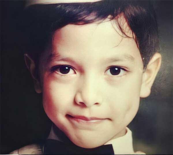 Alden Richards childhood photo