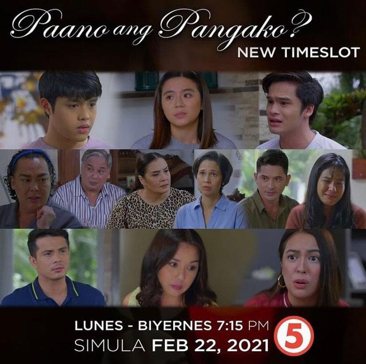 TV5 drama series Paano ang Pangako