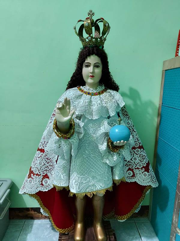religious image:  Sto. Nino
