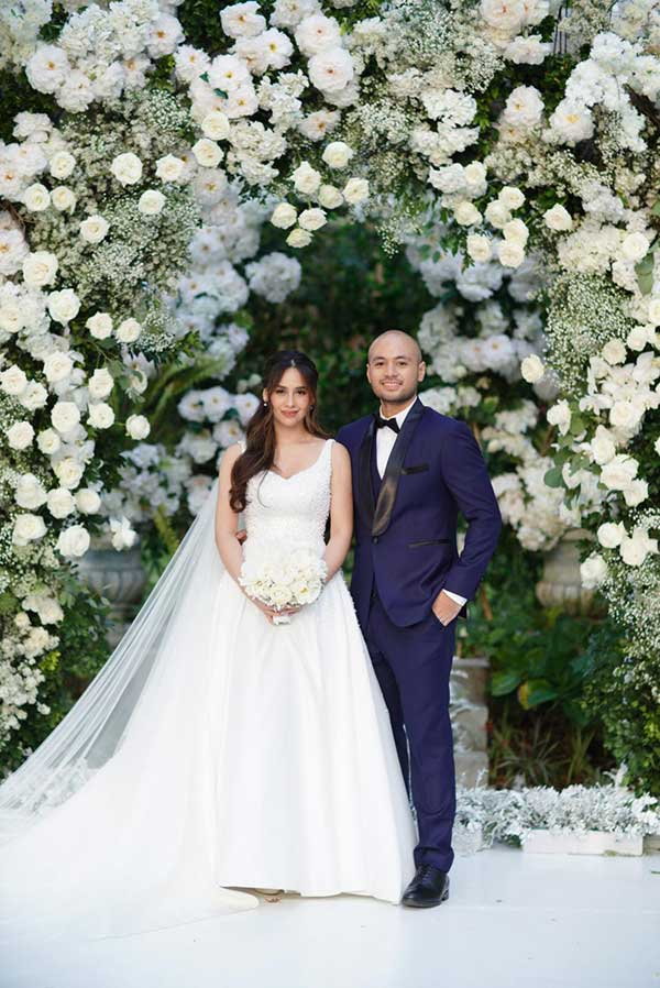 Empress Schuck, Vino Guingona wedding