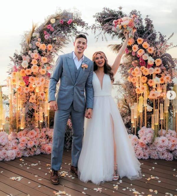 Sam Pinto, Anthony Semerad wedding