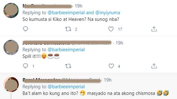 Twitter Replies: netizens request to spill the tea