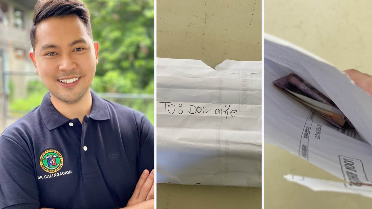 Alfie Calingacion, Doctor to the barrio patient pays back