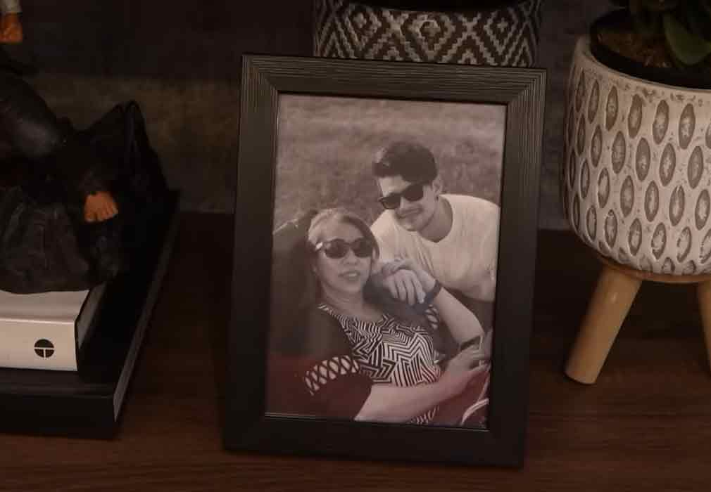 Rayver Cruz with late mother