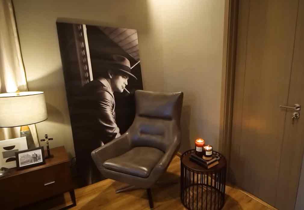 Rayver Cruz bedroom