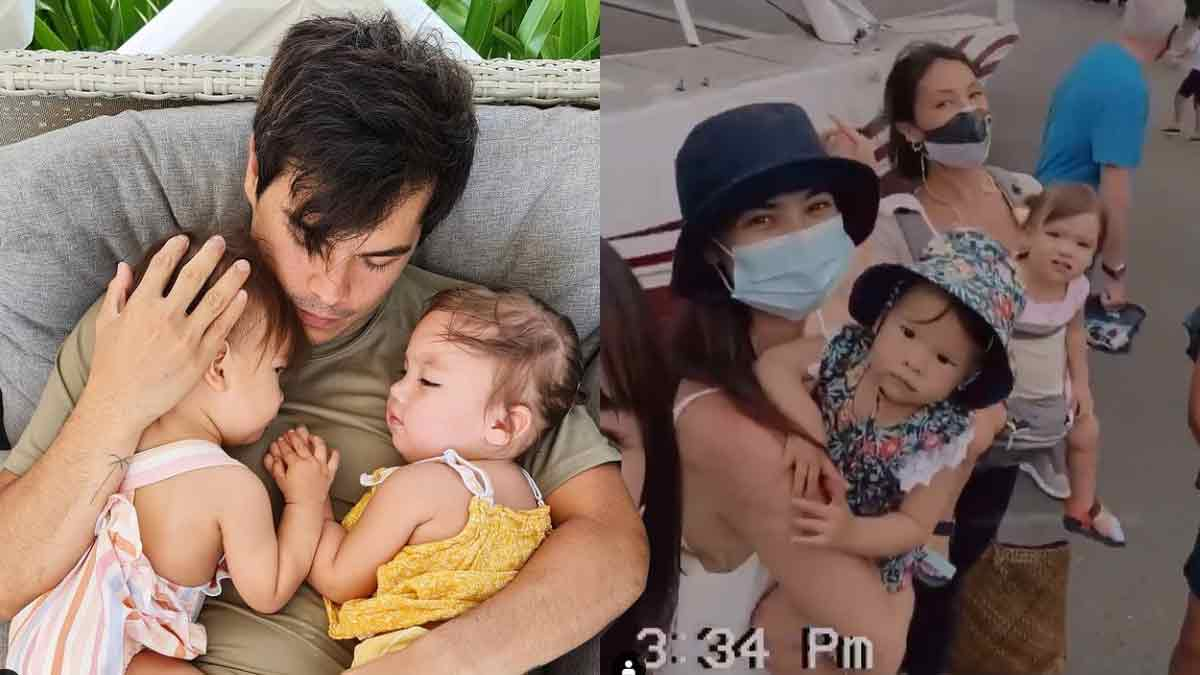 Family vacation with Thylane Bolzico and Dahlia Heussaff