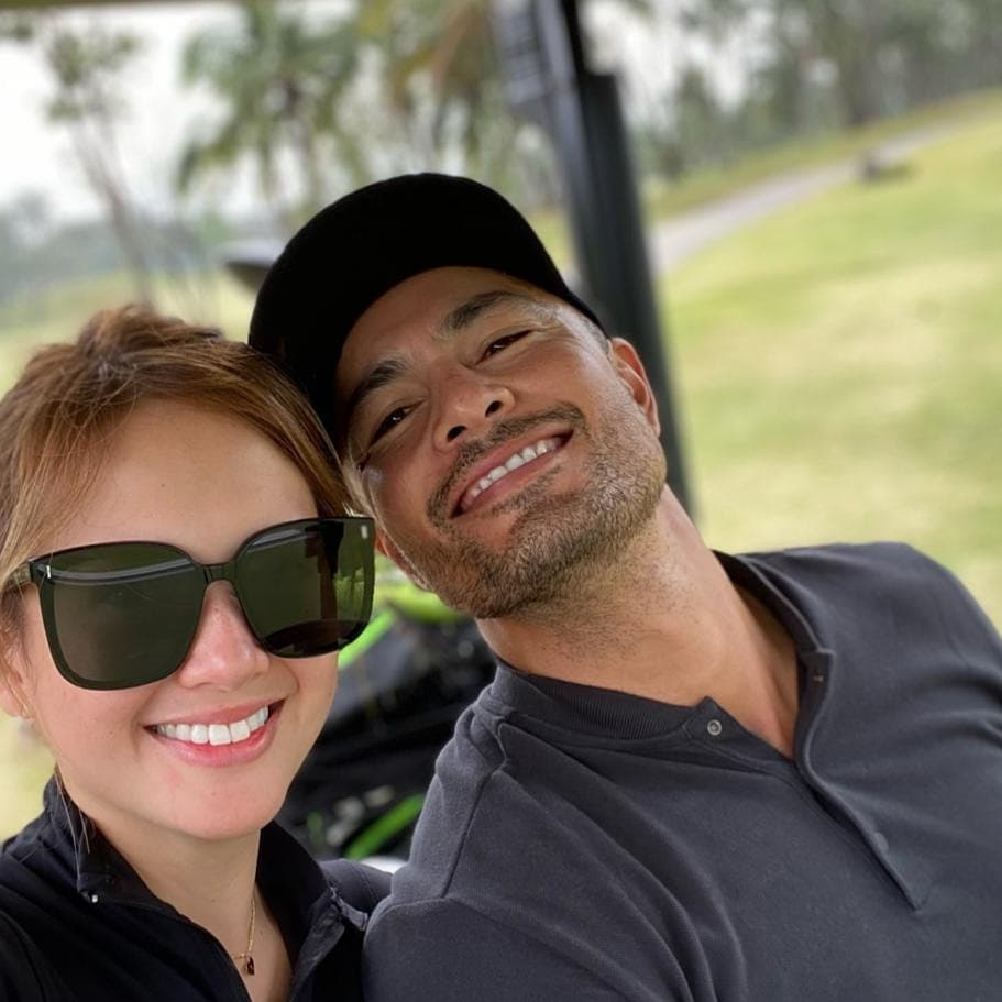 Couple Ellen Adarna and Derek Ramsay