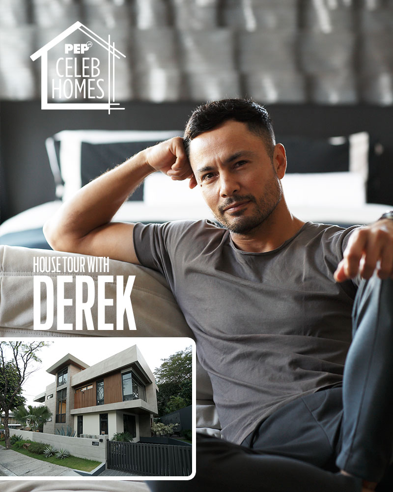 Derek Ramsay on PEP Celeb Homes