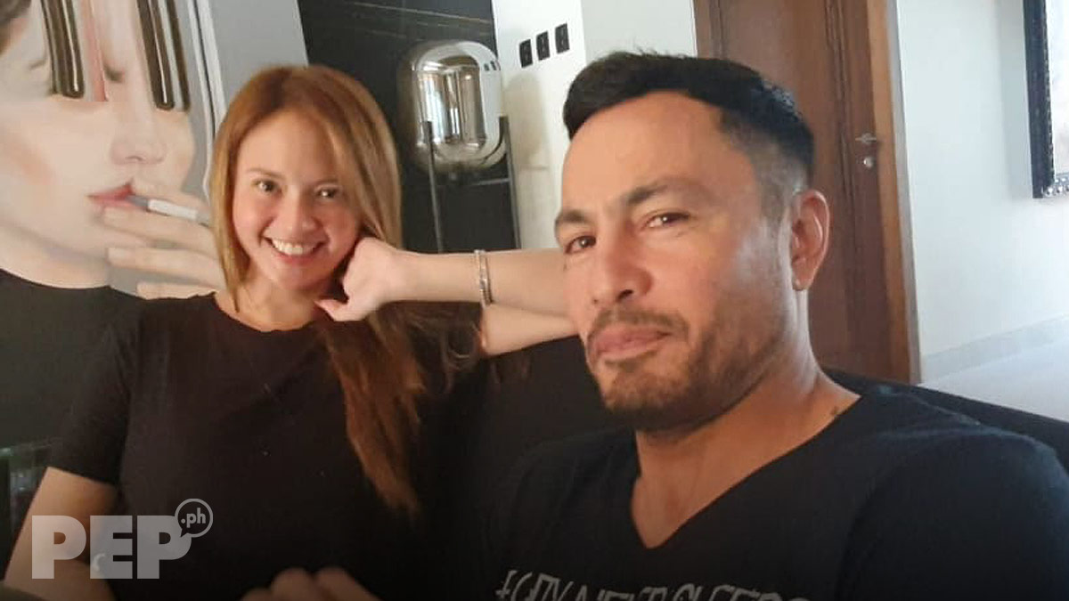 Derek Ramsay with fiancee Ellen Adarna on PEP interview