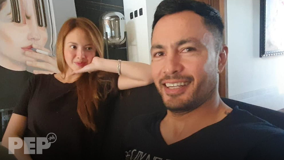 Derek Ramsay crushing on Ellen Adarna