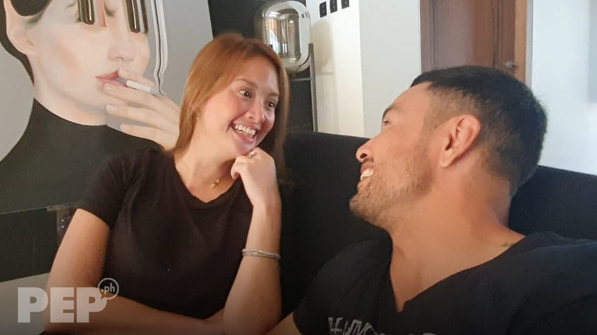 Ellen Adarna and Derek Ramsay on PEP interview