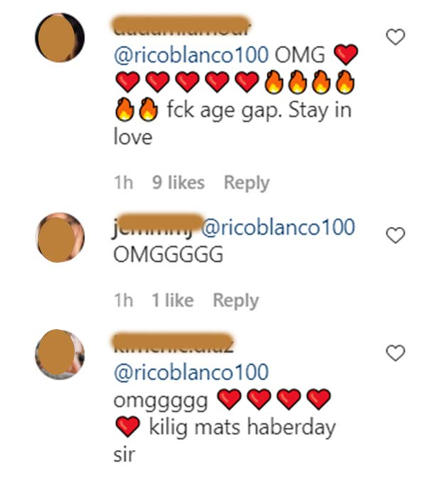 IG Comment: Netizens tell that age gap between Maris and Rico is okay