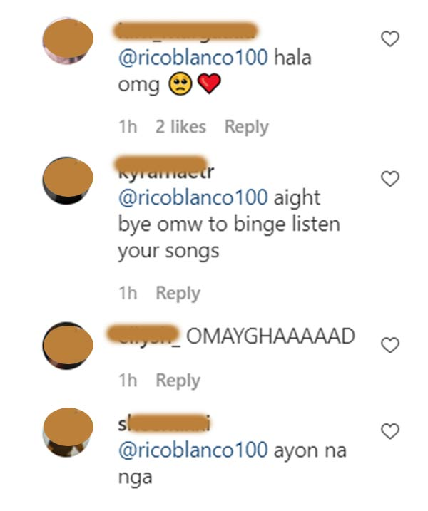 IG Comment: Netizens tease rumored couple Maris and Rico